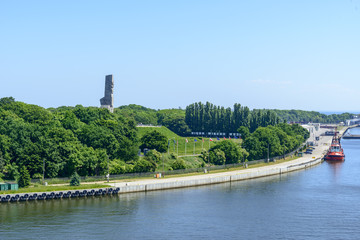 Monument to the Defenders of the Coast in Westerplatte. Gdansk, Poland.
