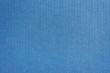 Close up kraft blue paper box texture and background.