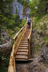 Silberkarklamm, Schladming Dachstein, Steiermark, Hiker