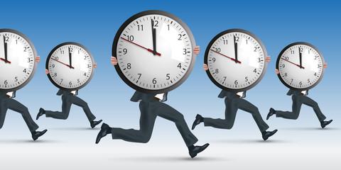horaire - travail - stress - entreprise - performance - délais - heure - temps - salarié - employé