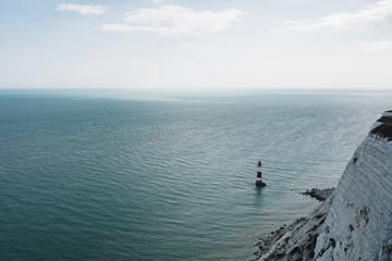Lighthouse off beachy head