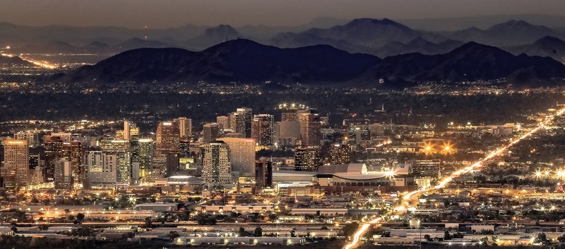 Phoenix Arizona Night