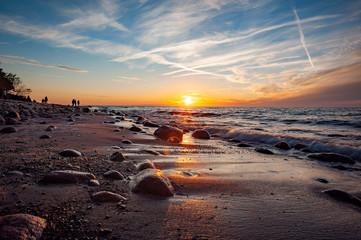 Plaża w miejscowości Rozewie