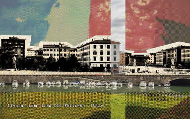 Livorno, retro card