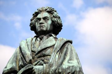 Ludwig van Beethoven, Musik, Kunst, Kultur, Sinfonie, Komponist, Denkmal, Statue, Klassik, Freude, Deutschland, Bonn