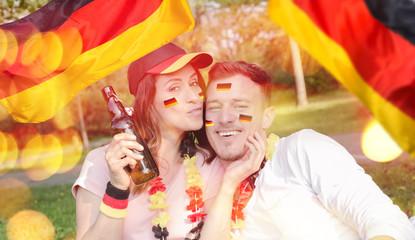 Deutsche Fussball Fans