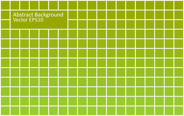 Green tiles abstract background