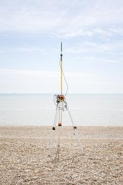 Scientific experiments, Dungeness, UK