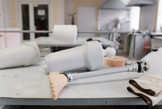 Production of orthopedic limbs and shoes