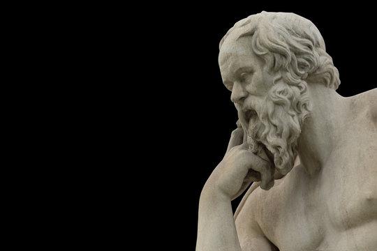 classic statue of Socrates