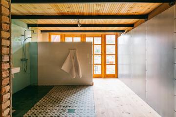 Large Stylish Open-Plan Bathroom