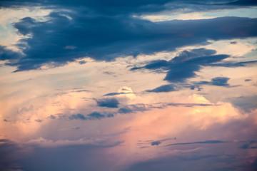 an cloudy sky