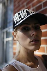 Fashionable Transgender Woman in Brooklyn New York City