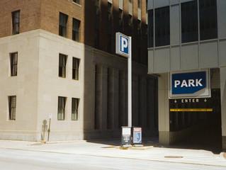 Parking Garage Street Scene