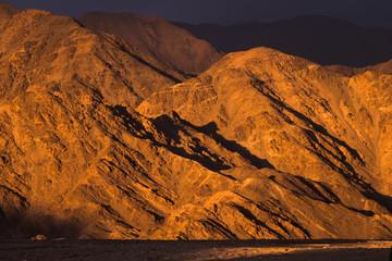 Himalayan Mountains In Sunset Time