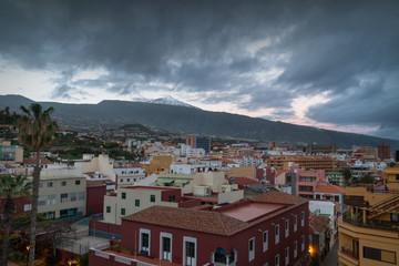 Canary city of Puerto de La Cruz