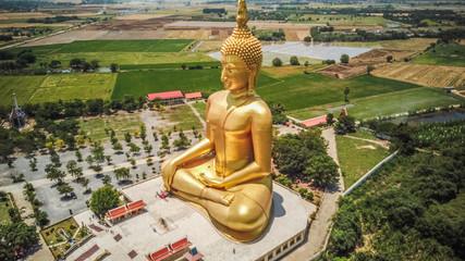 The Great Buddha of Thailand, Wat Muang temple, Ang Thong, Thailand