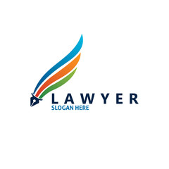 law writers logo