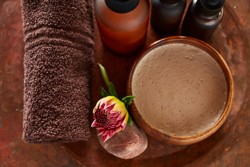All Natural and Organic Spa Still Life Ingredients