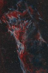 Pickerings triangle in the Veil nebula
