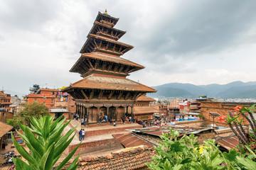 Nyatapola Pagoda, Taumadhi Suare in Bhaktapur, Nepal