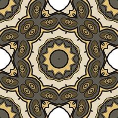 Art-deco fashion seamless pattern. vector illustration. For invitation wedding, valentine's, background, wallpaper