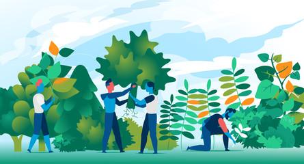 Cittadini attivi nella creazione di aree verdi