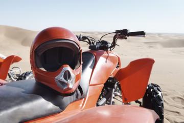 ATV Quad Biking in the Namibian Desert