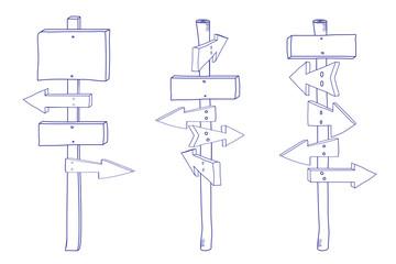Doodle_signpost_set