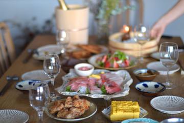 和食パーティー