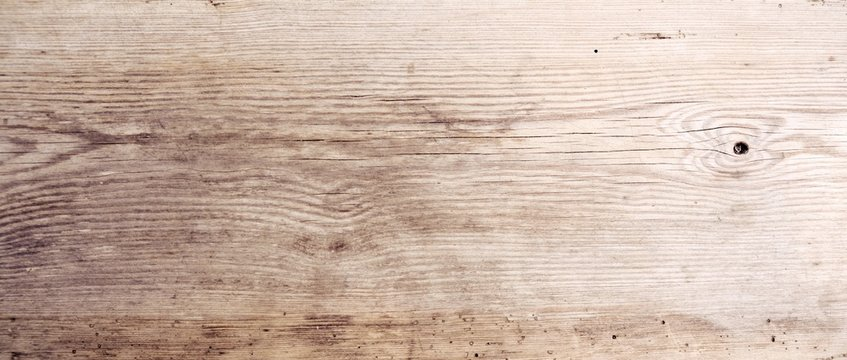 Rustikaler Holz Hintergrund - altes Holzbrett - Holztisch