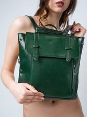 bag naked woman