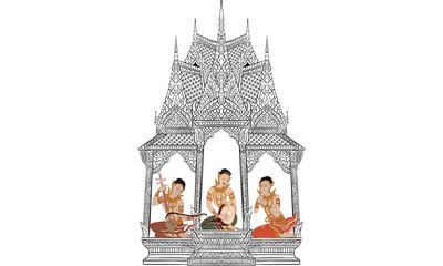 Thai traditional tattoo,  tiger tattoo