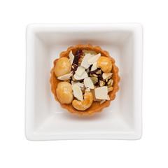 Mixed nuts tart