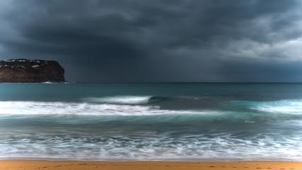 Overcast Dreamy Seascape