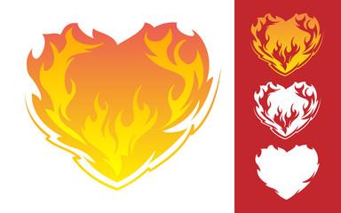 Burning Heart icon