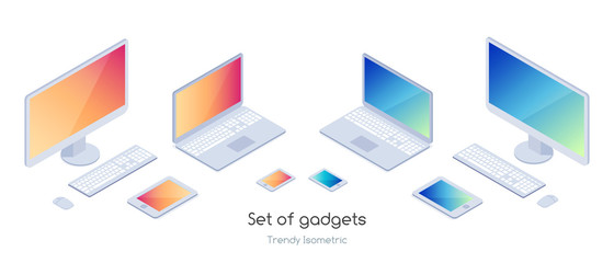 Isometric set of gadgets