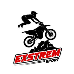 moto cross logo designs