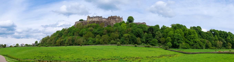 Das Schloß von Stirling/Schottland