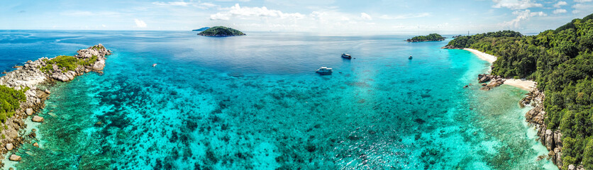 Similan islands panorama, Thailand