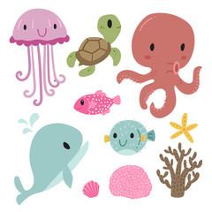 ocean character design