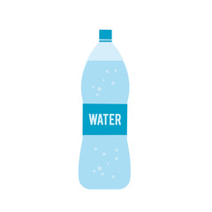Bottle water icon isolated on white background. Vector stock.