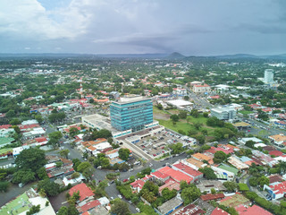 Managua city landscape