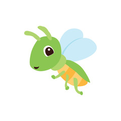 clored bee icon