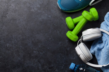 Fitness concept background