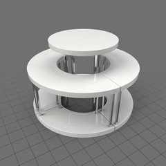 Tiered display table