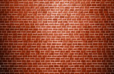 Realistic brick wall. Brick texture. Vector.
