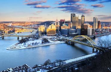 Downtown Pittsburgh, Pennsylvania, U.S.A.