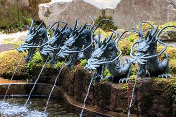 箱根神社 龍神水