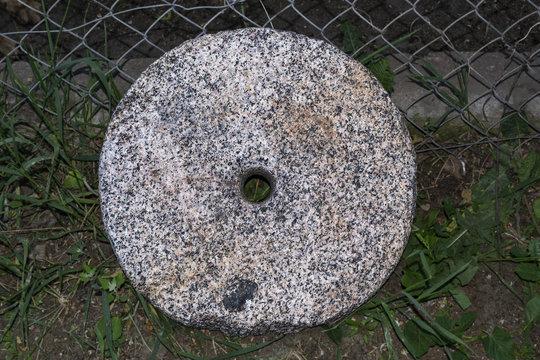 Millstone ancient stone